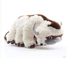 Free shipping movie Last Appa & Winged cattle Plush Toy Soft Stuffed Animals Lemur Momo Doll for children baby chrimast gift(China)