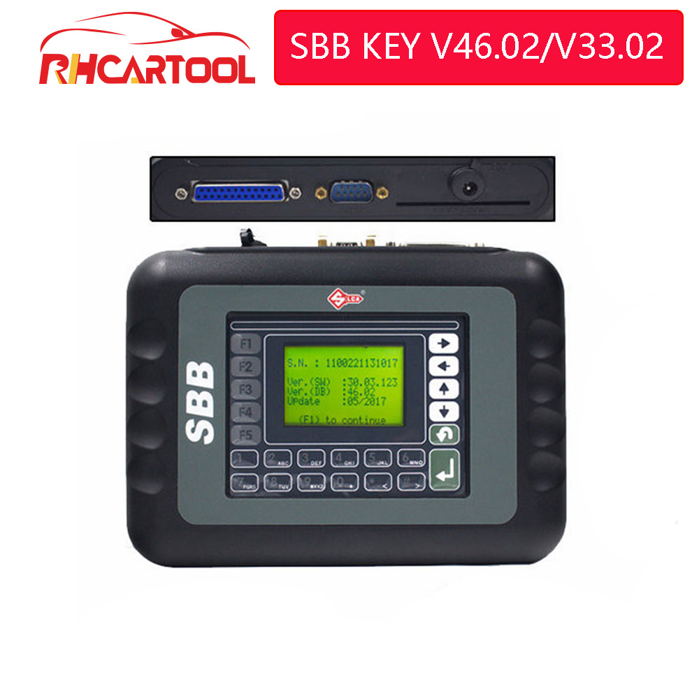 SBB v46.02 Universal Key Programmer Immobilizer For Multi Brands Car Integrated