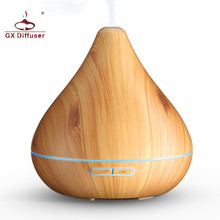 GX-13K 300ml Air Purifier 7 Colorful Lights Ultrasonic Aromatherapy Essential Oil Humidifier Electric Household Aroma Diffuser gx diffuser gx 01k ultrasonic humidifier led mini aroma diffuser aromatherapy essential oil air humidifier purifier for home