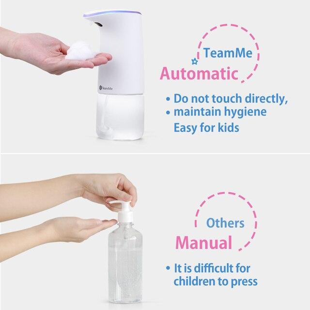 SNAPTAIN - Bezdotykový dávkovač mydla 5