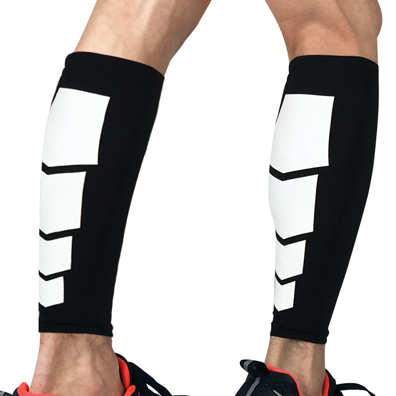 2020 New Arrival Sport Long Sleeve Leg Support Socks Varicose Veins Calf Compression Brace Professional Sports Calf Protector