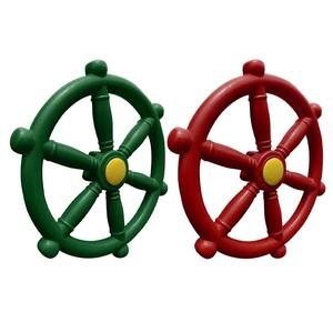 Pirate Ships Wheel Plastic Shi