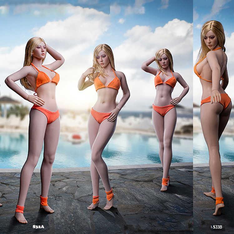 TBLeague 1//6 Suntan Female Super-Flexible Seamless Body S33B Long Leg Girl Doll