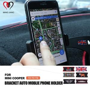 Image 1 - Auto Interior Acessórios Suporte Auto Mount Suporte Suporte Do Telefone Do Moblie Para MINI COOPER F55 F56 F54 Car styling