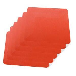 Image 1 - Ehdis 6Pcs Window Wassen Card Plastic Schraper Vinyl Film Wikkelen Zachte Zuigmond Koolstofvezel Tint Sticker Remover Schone Auto gereedschap