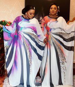 Image 2 - Länge 150cm 2 Stück Set Afrikanische Kleider Für Frauen Afrika Kleidung Muslimischen Lange Kleid Länge Mode Afrikanischen Kleid Für dame