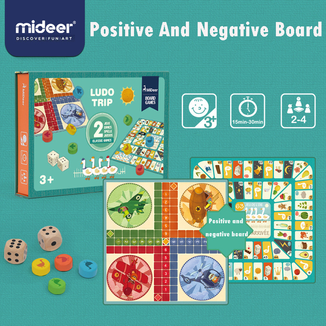 Mideer Trẻ Em Board Game Bay Cờ Vua Thiên Nga Cờ Vua Đa Năng Đầu Giáo Dục 2 Mặt Bảng Trò Chơi Giáo Dục đồ Chơi