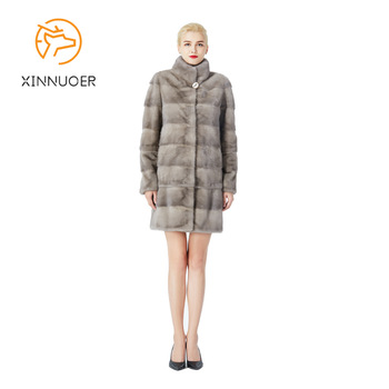 New natural Mink fur coat ladies Winter coat can adjust the length of the clothes can be customized large size 6XL7XL 1