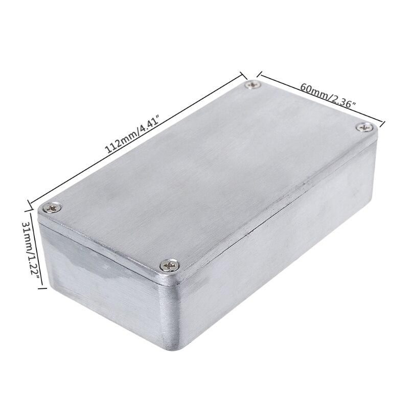 Effect Aluminum Box Metal Electrical Case Guitar Instrument Enclosure DIY