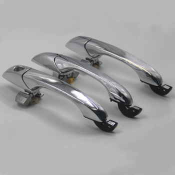 Exterior Door Handle for CHRYSLER 300/300C 05-10 Magnum 05-08 Chrome Front Rear Outer Door Handle Left&Right 1