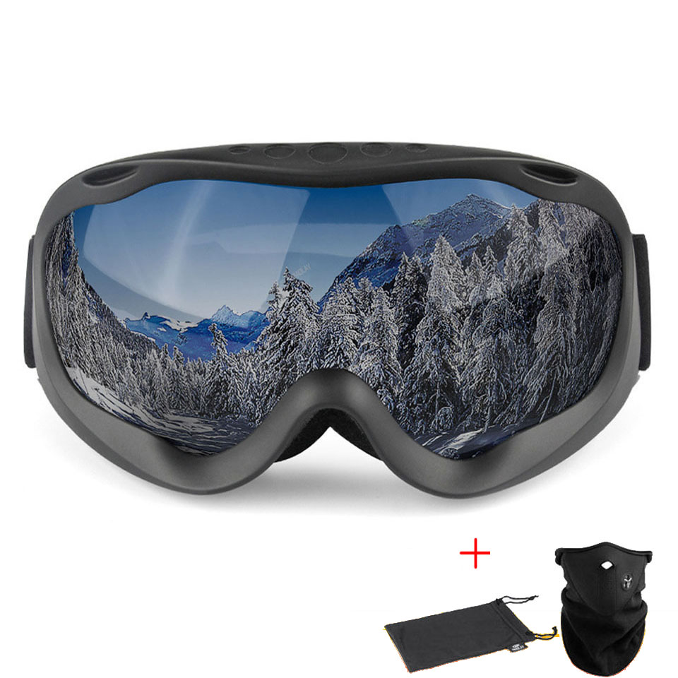 Ski Goggles Anti-fog Ski Mask Glasses Skiing Snow Goggles Glasses Snowboard Goggles Eyewear For Men Women 100% UV Protection