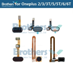 for Oneplus 2 3 3 5 5T Fingerprint Flex Cable 1+3 6 6t for Oneplus 5 5T Home Button Sensor Scanner Flex Cable Phone Replacement