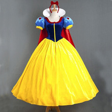 Adult Snow White Costume Cosplay for Halloween and Christmas Women