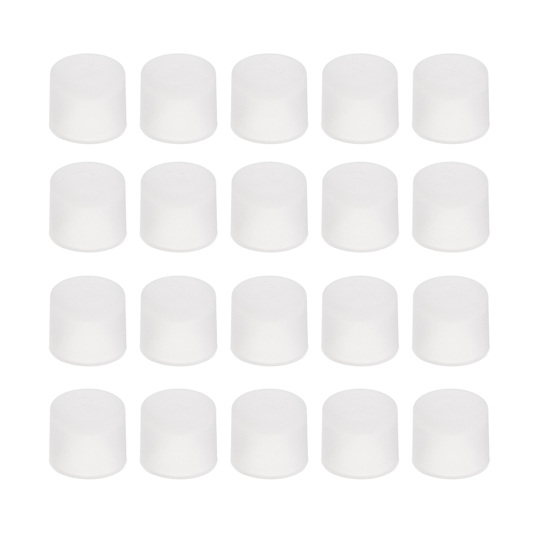 Ambitious Uxcell 20pcs Rca Female Connector Socket Jack Plug Protector Cap Cover Clear For Dvd Amplifier Av Receiver Dust Proof In Pain