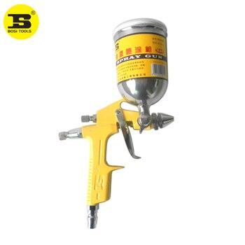 цена на  BOSI 200cc HVLP grayvity air spray paint gun car auto painting spray