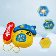 Детский музыкальный телефон с грибами на возраст 0 12 месяцев