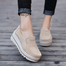 Women Casual Shoes Loafers New Round Toe
