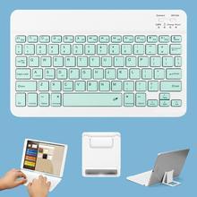 "GOOJODOQ 10"" Bluetooth Keyboard for iPad 2018 Pro 11 12.9 10.5 Air 2 3 Mini 4 for iPad 10.2 2019 Keyboard Mini Wireless Teclado"