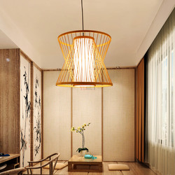 Azja południowo-wschodnia żyrandole restauracyjne teahouse światła herbaciarnie bambusowe żyrandole kreatywne lampy balkonowe ZA zb2 LU1018