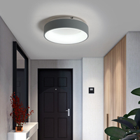Classical Ceiling lamp Modern led Ceiling Lights for living Room Bedroom Study Room Corridor Grey or White Color Lighting Light
