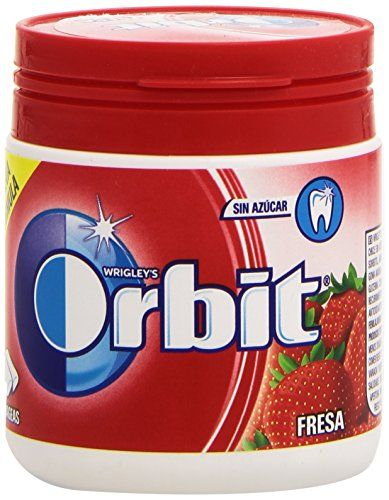 Orbit Bote - Fresa, Chicle Sin Azúcar, 60 Grágeas