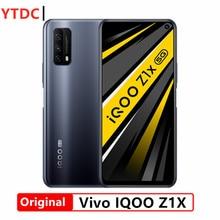 Novo original vivo iqoo z1x 5g telefone inteligente 6gb 128 6.57 Polegada 120hz tela 5000mah bateria 33w super vooc celular