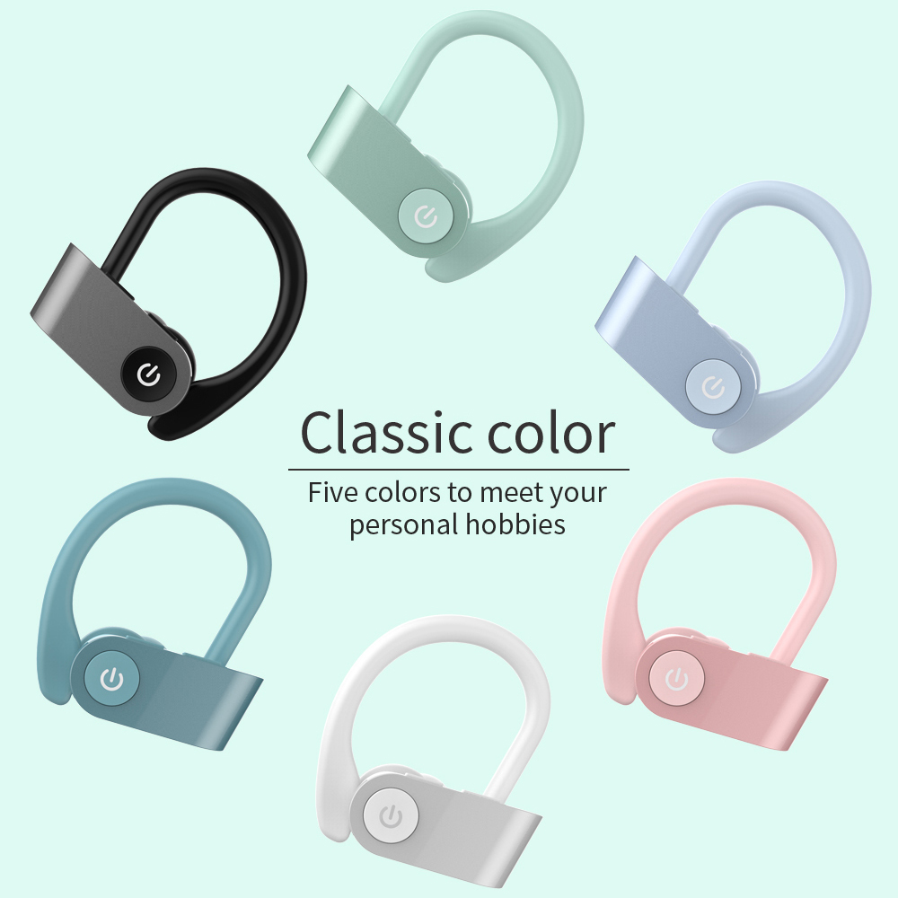 Bluetooth Wireless Earphone <font><b>tws</b></font> <font><b>5.0</b></font> Sports Headphones Stereo Earbuds Running Headset with Mic for xiaomi iphone ios smart phones image