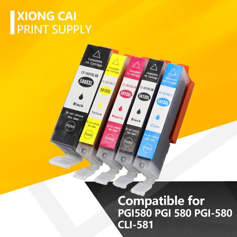 PGI580 PGI 580 PGI-580 CLI-581 Ink Cartridge Compatible For Canon TR7550 TR8550 TS6150 TS6151 TS8150 TS8152 TS9150 TS9155