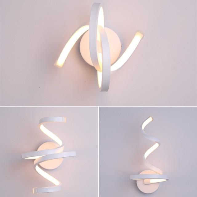 18W 22W Modern Spiral LED Wall Lamp Lighting Wall lamp