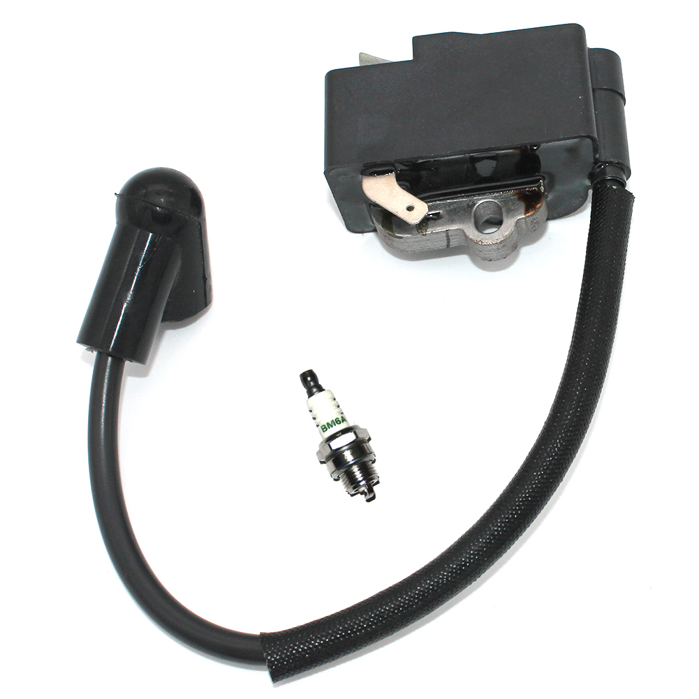 Tools : Ignition Module Coil with Spark Plug BM6A for STIHL MS362 MS362C Chainsaw 1140 400 1302 1110 400 7005 BPMR7A