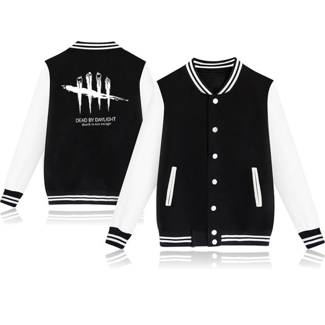 Unisex Fashion Baseball Jacket Dead By Daylight Baseball Uniform  Harajuku Sportswear Boys Girls Lovely Cotton Jackets Clothes 2