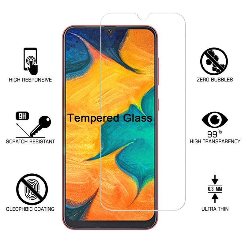 2PCS Tempered Glass For Samsung A50 A70 A30 A20S A 51 A 71 Glass Screen Proetcor On Samsung Galaxy A 50 A 70 A20E A20 S 9H Glass