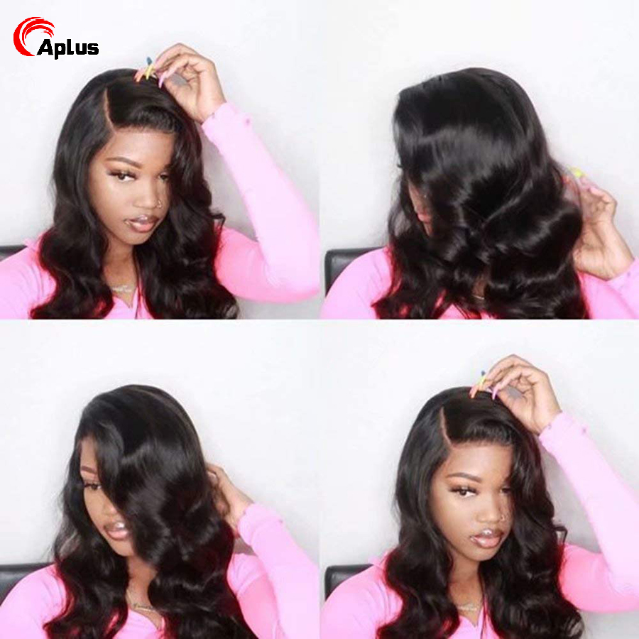 Aplus body wave frontal cabelo humano parte