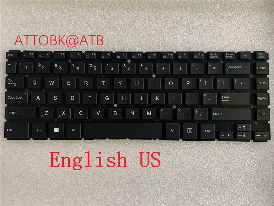 NEW GR/SP/UI/US/UK laptop Keyboard For Medion AKOYA S3409 S3406 KEYBOARD(China)