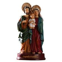 Holy Family Statue Catholic Tabletop Statue Figurine Jesus Christ Statue Figure