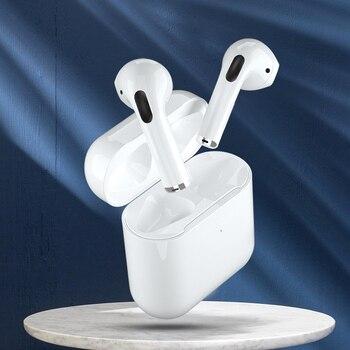 Airpodding PRO4 Wireless Headphones TWS Bluetooth Earphone Sport Earbuds Headset With Mic Earpiece For Iphone Xiaomi Samsung cbaooo j10 bass wireless headphones bluetooth stereo sport earphone bluetooth headset earpiece for phone xiaomi iphone