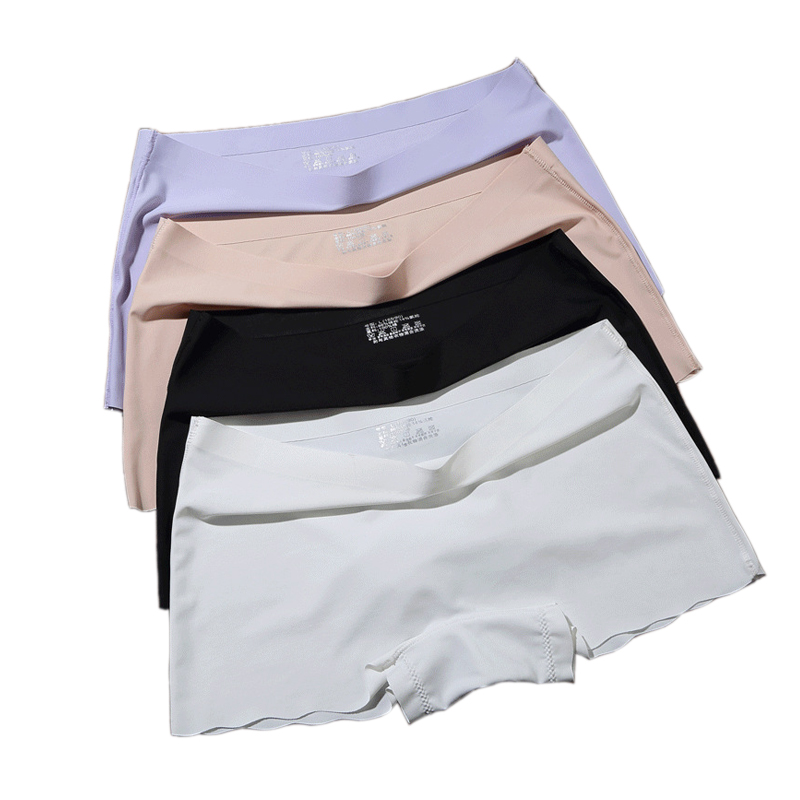 Women's Safety Short Pants Boxer Women Underwear Boyshort Panties Skirt Shorts Ladies Underpants Seamless Shorts Trousers Set