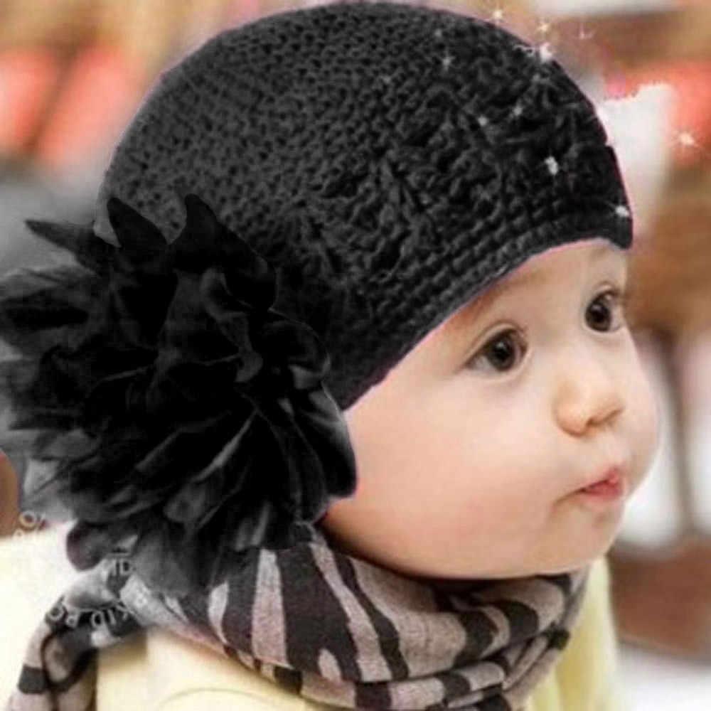 الصغار الرضع طفلة رباط شعر عقال أغطية الرأس قبعة أزهار الروز قبعة حمراء رمادي أرجواني بيج أصفر السماء الزرقاء القهوة أسود