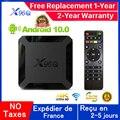 Новинка X96Q Android 10,0 Ip tv Box 1G 8G 2G 16G Allwinner H313 X96Q OXY IP TV Mail-G31 MP2 smart ip tv set top box Доставка из Франции