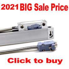 Big Sale Linear Glass Scales Optical Lines Linear Ruler Travel Length 50-1000mm for Lathe Milling Machines