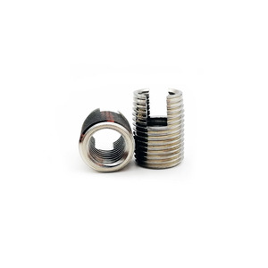 Self-Tapping Inserts M2 M2.5 M3 M4 M5 M6 M8 M10 M12 threaded insert Metal thread repair kit Stainless Steel helicoil rosca