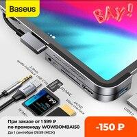 Baseus USB C HUB tipo C a Multi USB 3.0 HUB adattatore USB HUB per MacBook Huawei Mate 40 USB-C adattatore Smartphone USB tipo C HUB