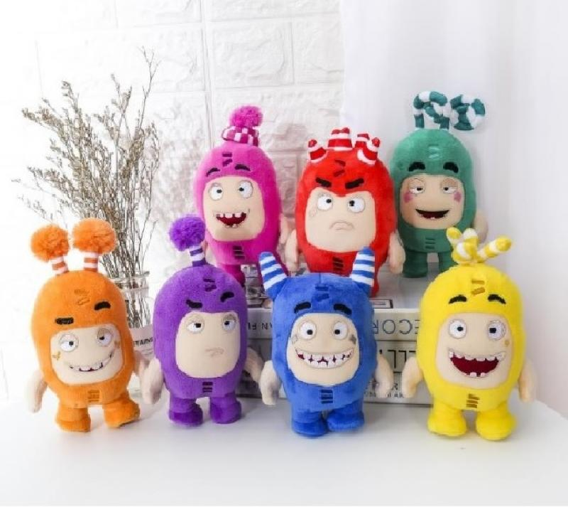 18cm/23cm Plush Toys Christmas Gifts Oddbods Cartoon Fuse Jeff Newt Odd ZEE Bods Stuffed Animals Doll Toys For Kids Gifts