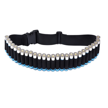 27 Rounds Hunting Bullet Ammo Tactical Military Airsoft Shotgun Shell Bandolier 12 Gauge Belt molle pouch hunting accessories 2