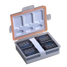 DuraPro – batterie Li-ion Rechargeable, 4 pièces, 1600mAh, AHDBT 501, pour caméra Gopro 5 Hero 5 Go pro 5 AHDBT 501