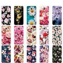 Silicone Case For Samsung Galaxy J7 J701 J701F J701M Neo/Nxt/Core Soft TPU Beautiful Flowers Back Cover J7 SM-J701 Phone Case(China)