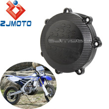 Case Clutch-Cover YZ450FX Engine Yamaha for WRF YZF Black Off-Road