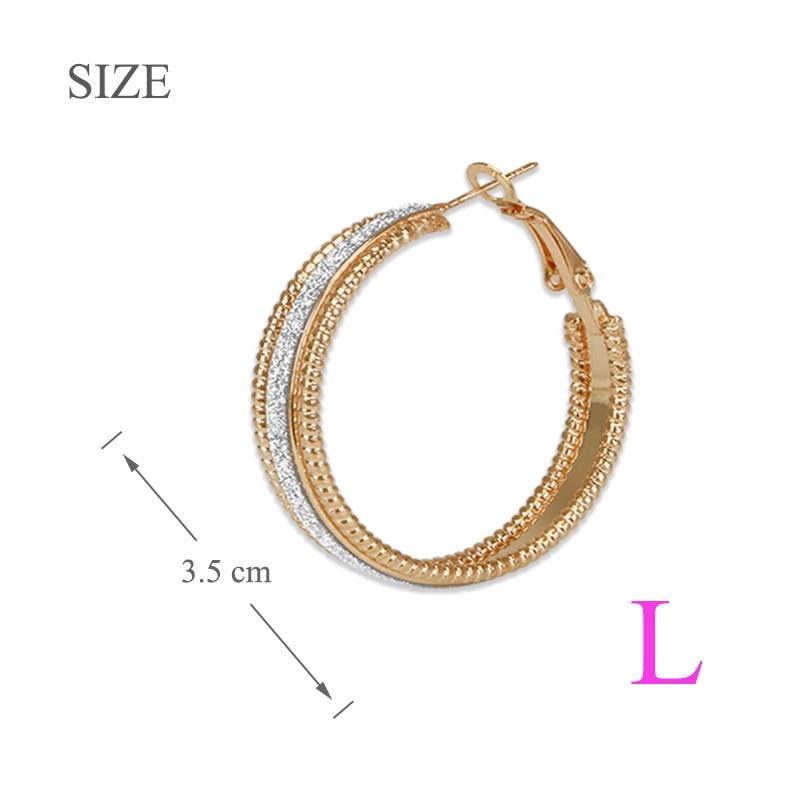 small Hoop earring LG