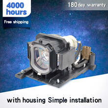 DT01022 / DT01026 Compatible projector lamp bulb for HITACHl CP-RX78/ RX78W/ RX80/ RX80W/ED-X24Z with housing compatible projector bulb projector lamps with housing dt00471 for cp x430 hx2080 2080a