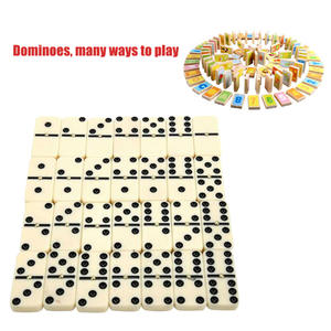 Toy Chess-Game Dominoes-Set Entertainment Travel Kids Portable Double-Six Educational